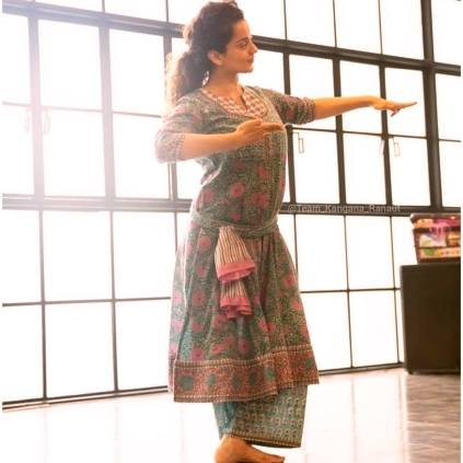 Kangana Ranaut trains in Bharatanatyam with Gayathri Raghuramm for Jayalalithaas biopic Thalaivi