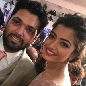 Rakshit and Rashmika finally get engaged.