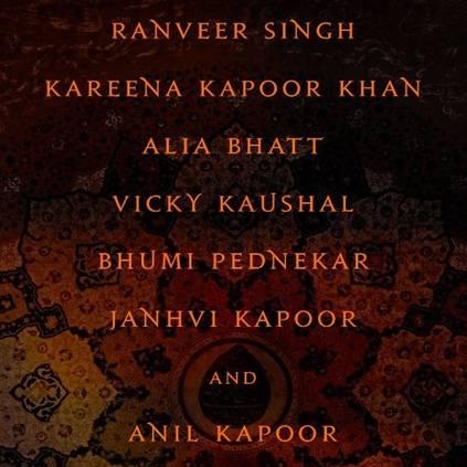 Karan Johar announces his magnum opus Takht