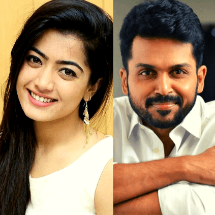Karthi Rashmika Mandanna's Sulthan may release on March 2020