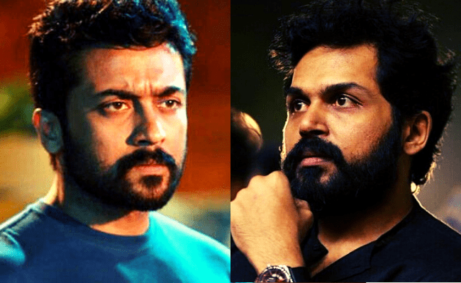 Karthi shares Suriya's current health update after being affected with Covid
