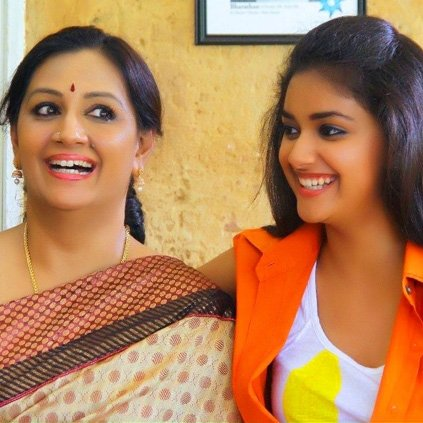 keerthi suresh s mother did not know that she was going to