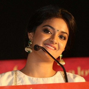 It is a hattrick for Keerthy Suresh