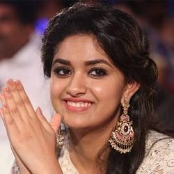 Keerthy Suresh talks about Vikram in Saamy 2 Audio Launch