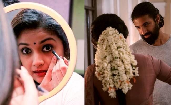 Keerthy Suresh's birthday wish to her Mahanati director Nag Ashwin is turning heads