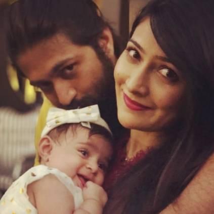 KGF star Yash and Radhika Pandit name their daughter as Arya Yash