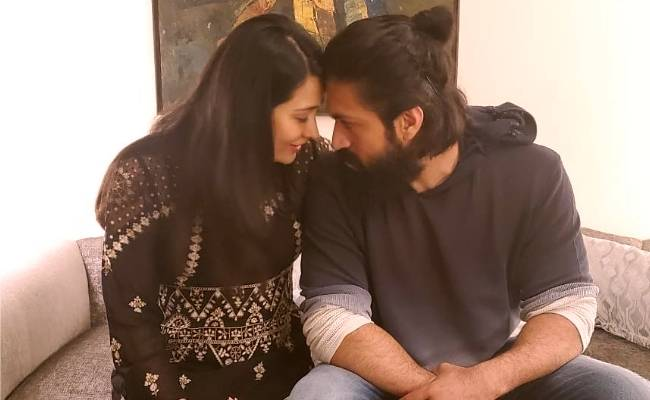 KGF star Yash's birthday wish for wife Radhika Pandit is turning heads, calls her oldest