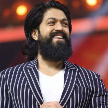 KGF Yash's reaction to his KGF AV in Behindwoods Gold Medals 2019