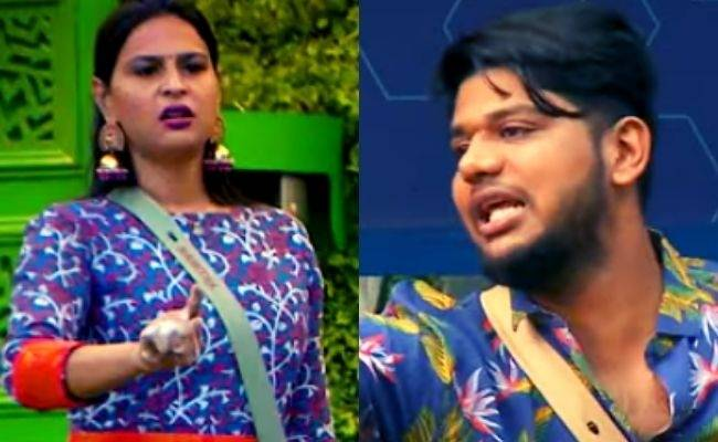 """""""Let me say this clearly..."""": Namitha and Abishek Raaja get involved in a heated argument!! - BB Tamil 5 New Promo"""