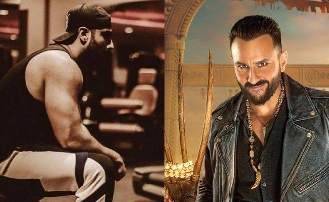 Look who has teamed up with Saif Ali Khan in his next - BHOOT POLICE