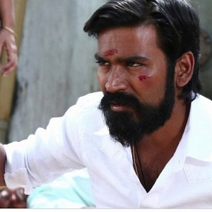 """Apart from just watching, Dhanush also involved himself.."""