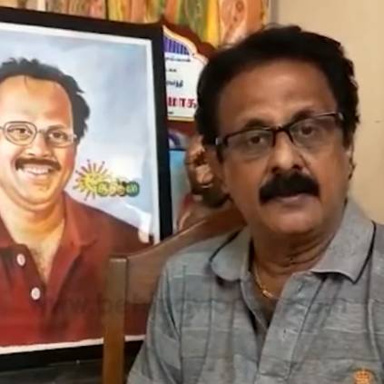 Maadhu Balaji dispels the rumours on the death of humorist Crazy Mohan