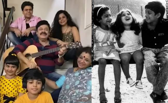 Madhan Bob and family perform song from Maniratnam's Anjali movie