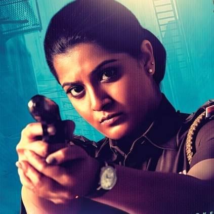 Makkal Selvi Varalaxmi Sarathkumar's intriguing 2nd look from Danny out