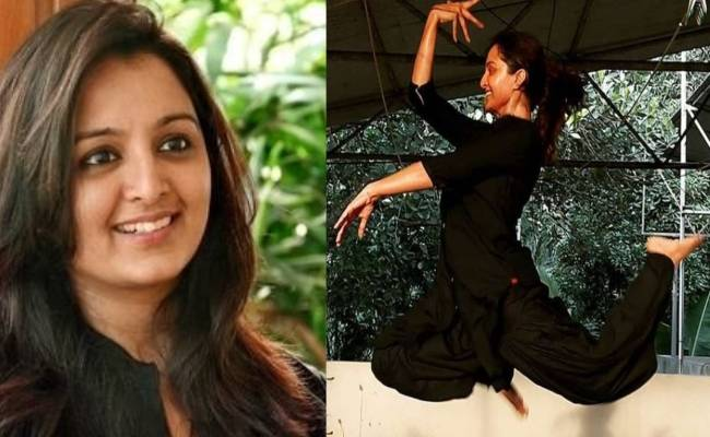 Manju Warrier is floating in the air in her new post