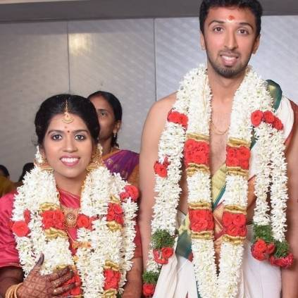 Manobala's daughter-in-law faces difficulties while register her Wedding because of her Mehandi design