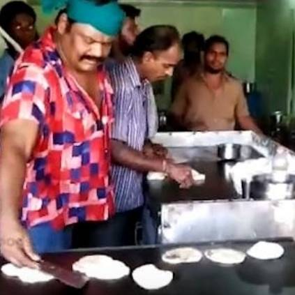 Mansoor Ali Khan becomes Parotta Master amidst election campaign in Natham, Dindigul
