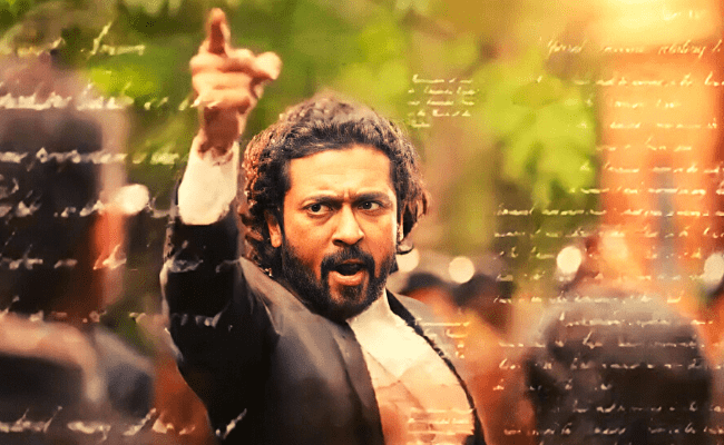 Mass glimpse from Suriya's NEXT is sure to give us GOOSEBUMPS; Don't miss ft Jai Bhim in Amazon Prime Video