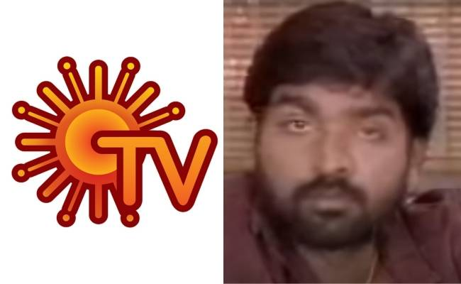Master actor Vijay Sethupathi acted in Sun Tv serial 'Penn'