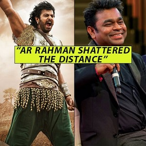 ''AR Rahman shattered the distance'' - Baahubali music director MM Keeravaani