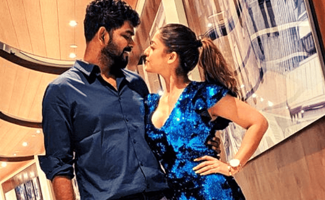Nayanthara and Vignesh Shivan's 2021 new year romantic pics are going viral