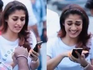 Lady Superstar Nayanthara is all smiles in this fun bts throwback video - Watch!