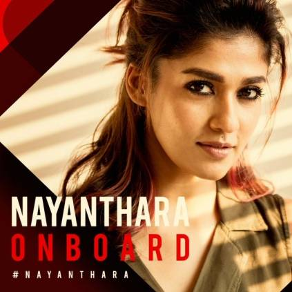 Nayanthara plays the female lead in Thalapathy 63
