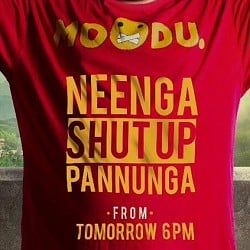Neenga Shut Up Pannunga from Ballon to release on August 29th