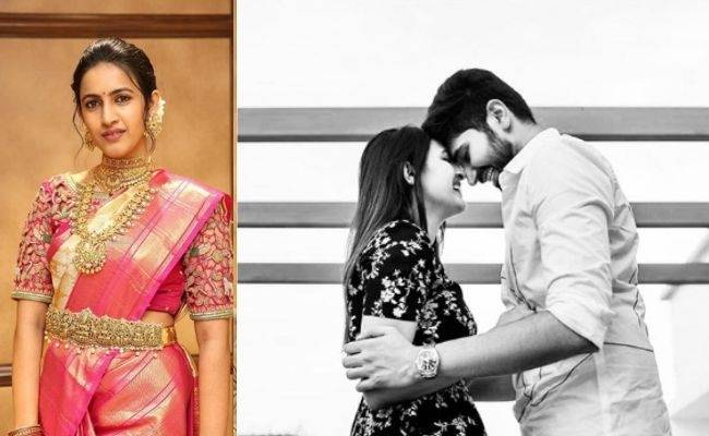 Niharika Konidela reveals her fiance Chaitanya's pic in an Instagram post