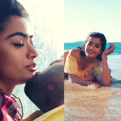 Nithiin Rashmika Mandanna S Bheeshma Hey Choosa Video Song Out