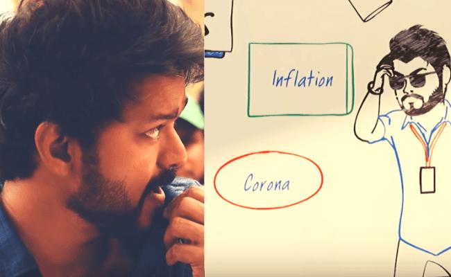 Notice Corona mention Vijay's Kutti Story video from Master