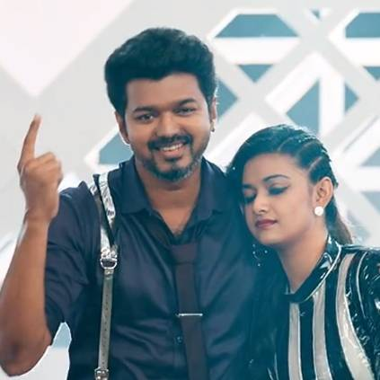 OMG Ponnu song video featuring Vijay and Keerthy Suresh