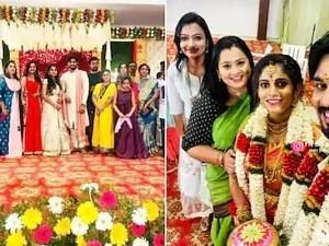 'Oru Oorla Oru Rajakumari' fame Puviyarasu gets hitched; Excited fans relay wishes!