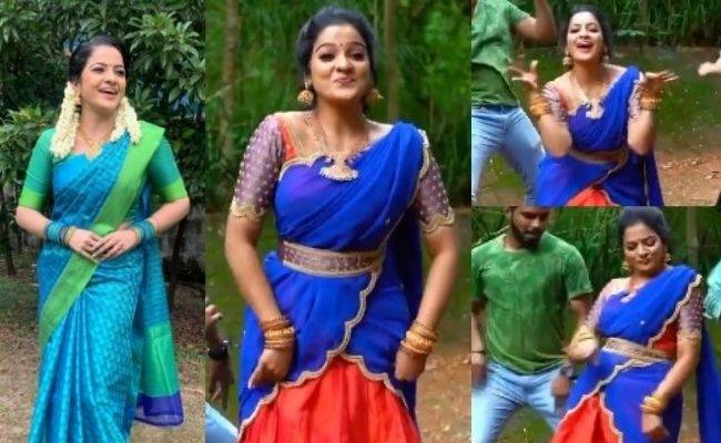 Pandian Stores VJ Chithra's latest lovely dance video goes Viral