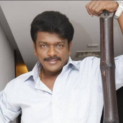 Parthiban comes up with interesting title Oththa Serupu Size 7