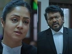 Ponmagal Vandhal official trailer ft. Jyothika-Parthiepan
