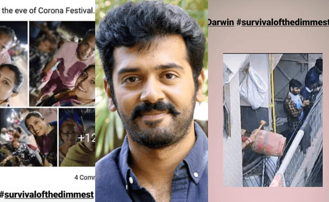 Ponniyin Selvan star shares 'survival of the dimmest' moments from India fighting Coronavirus