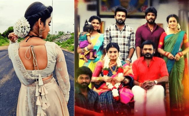 Popular actress replaces this Pandian Stores fame in Vijay TV; announces with pics ft Saai Gayatri as Aishwarya