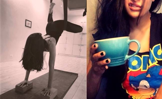 Popular actress Shruti Haasan shares pic feeling very strange drinking this after 15 years