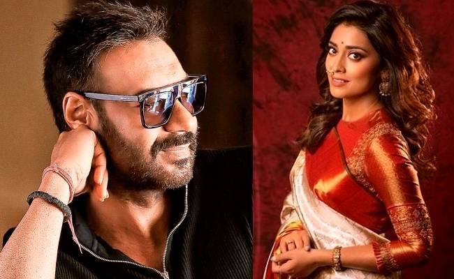 Popular heroine confirms and reveals her role in SS Rajamouli's RRR ft Ram Charan Jr NTR Shriya Saran