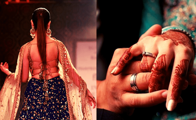 Popular heroine gets married to her director in an intimate wedding; viral pic ft Yami Gautam and Aditya
