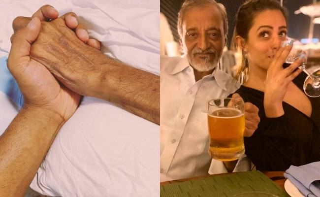 Popular heroine's father-in-law passes away, shares emotional note ft Anita Hassanandani
