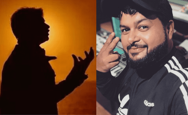 Popular superstar started following Thaman's account and he cannot contain his excitement on this