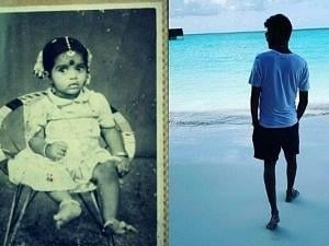 """Popular Tamil TV host shares a """"CUTE"""" THROWBACK pic with this question! Any guesses who?"""