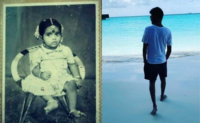 """Popular Tamil TV host shares a """"CUTE"""" THROWBACK pic with this question - Any guesses who?"""