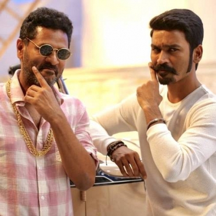 Prabhu Deva choreographs a song in Maari 2