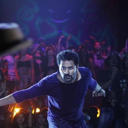 Prabhu Deva's Lakshmi making video