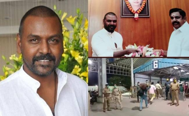 Raghava Lawrence's request to CM to transport 37 people to Andhra fulfilled