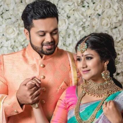 Raja Rani fame actors Sanjeev and Alya Manasa officially announce their marriage