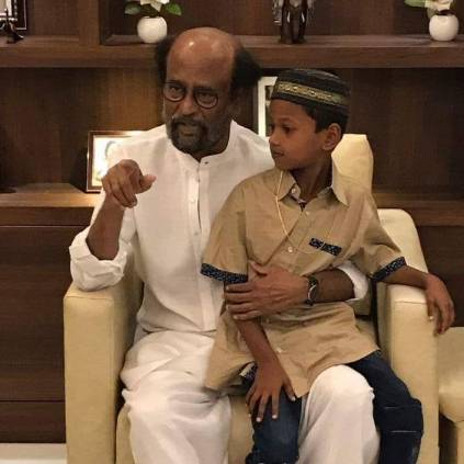 Rajinikanth to support the education of 7 year old